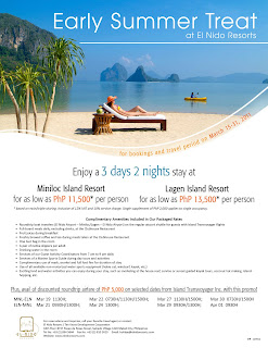 El Nido Resort Summer Package