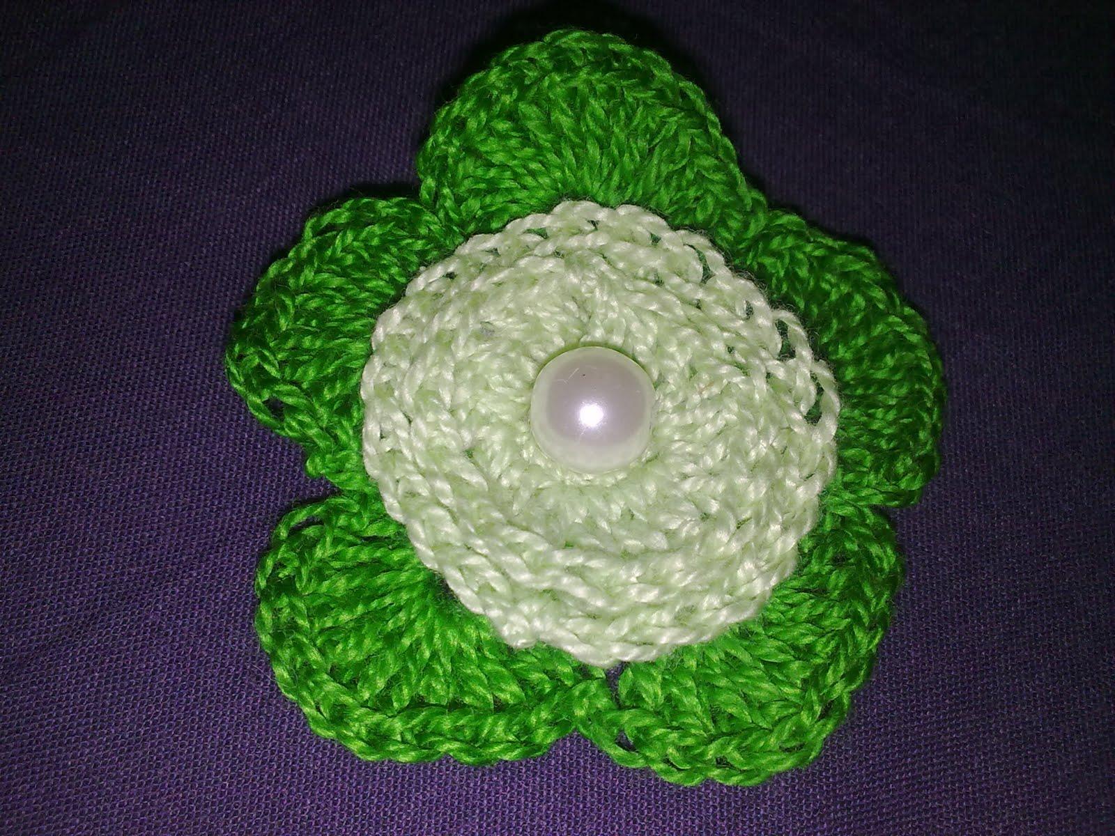 Manualidades flores de crochet flores de ganchillo - Manualidades a ganchillo ...