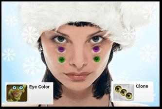 برنامج تغيير لون العين