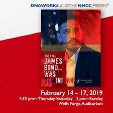 February 14, 2019 - THE REAL JAMES BOND WAS…DOMINICAN! Thu, Feb 14, 2019 7:30 PM   Sun, Feb 17, 201