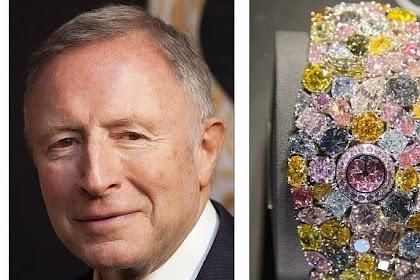 Fantastis, Jam Tangan Berlian Ini Seharga Rp625 Miliar