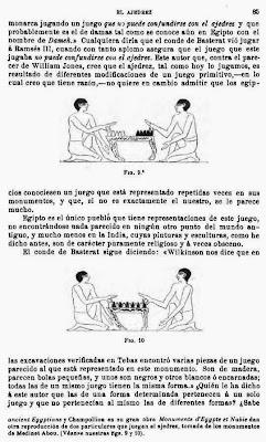 Libro de Josep Brunet i Bellet sobre el origen del ajedrez, página 85