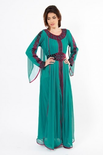 New Fashion Design Dresses Touch Abaya Dresses
