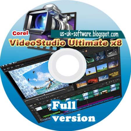 corel videostudio pro x8 full version