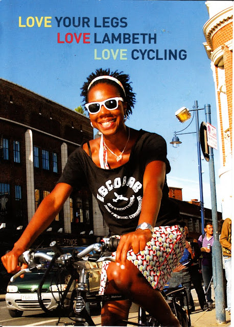 love your legs, love lambeth, love cycling flyer on lambethcyclists.org.uk