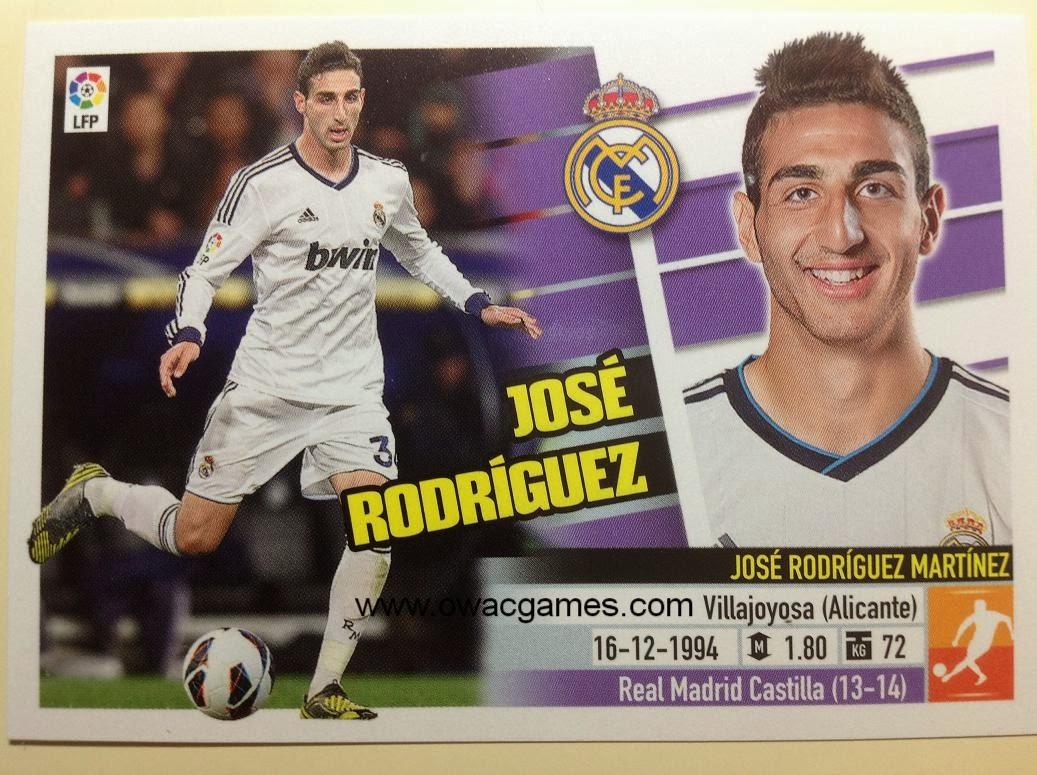 Liga ESTE 2013-14 Real Madid - 12B - Coloca - José Rodríguez