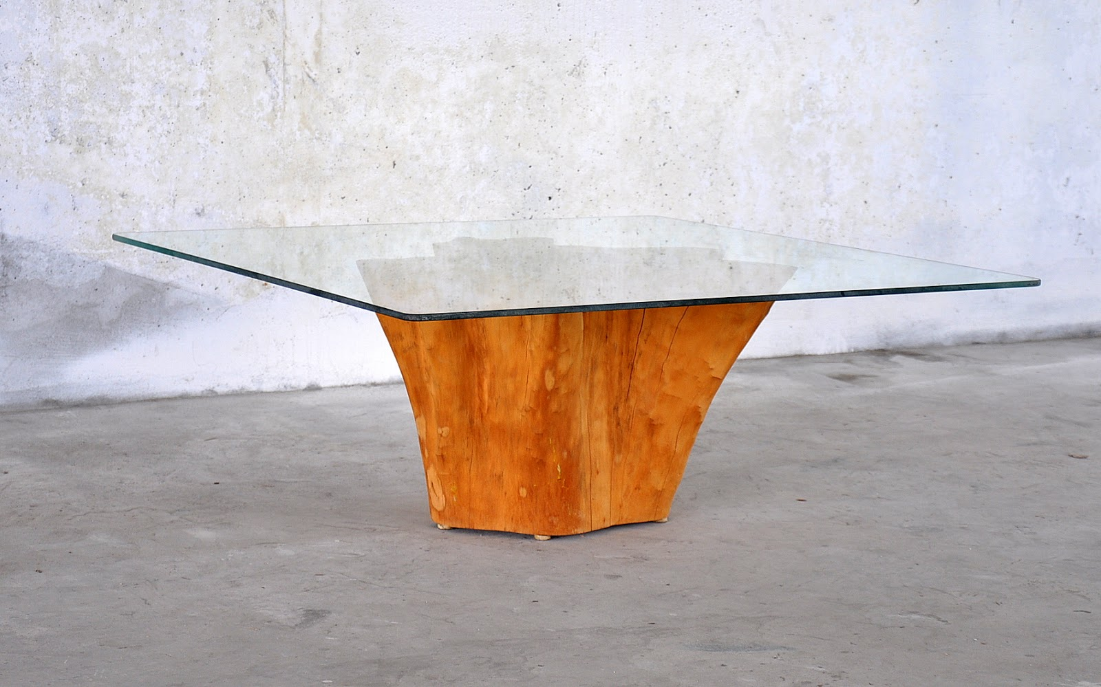 Tree stump coffee table for sale mid century modern design finds geotapseo Gallery