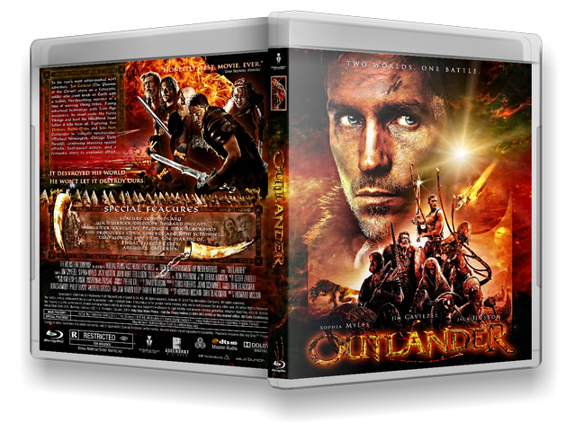 Capa Bluray Outlander
