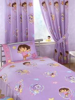 Cortinas infantil para quarto feminino