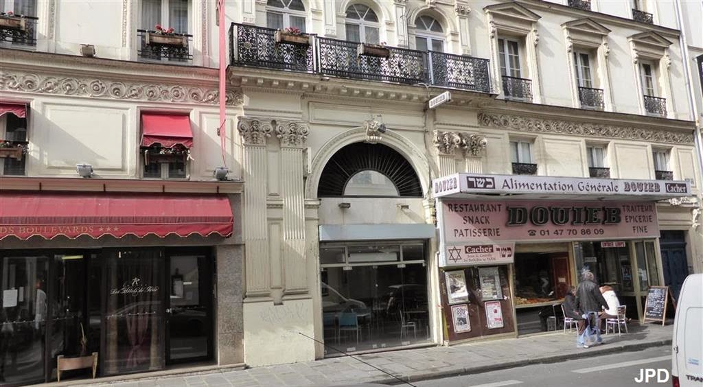Restaurant Rue Geoffroy Marie