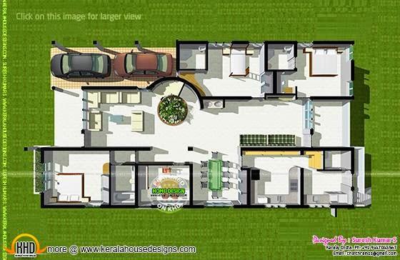 Isometric view plan