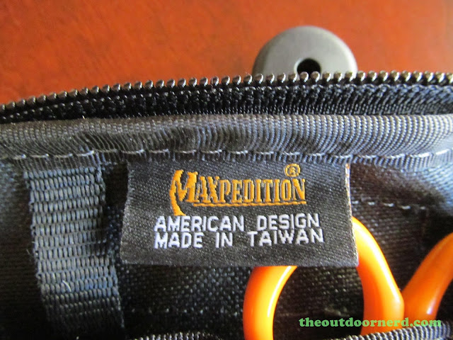 Maxpedition EDC Pocket Organizer - Maker's Tag