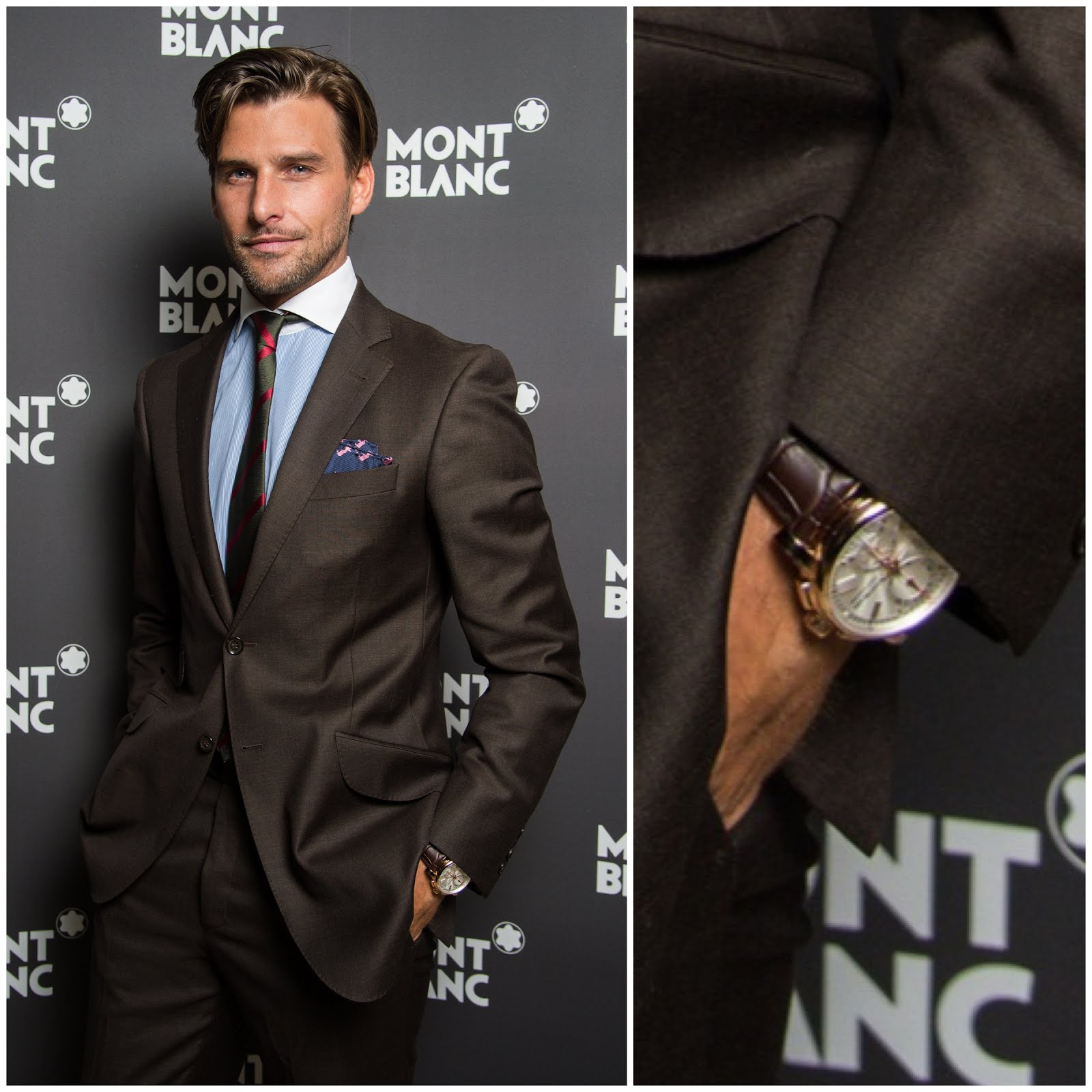 00O00 Menswear Blog Johannes Huebl at #SIHH2013 Salon International de la Haute Horlogerie with Montblanc Star 4810 Chronograph Montblanc VIP dinner