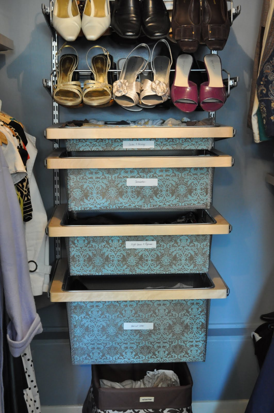 How I organize my bedroom: My closet! | Organizing Made Fun: How I ...