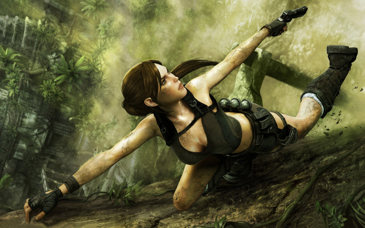 Tomb Raider Underworld 3 HD desktop wallpaper  - tomb raider underworld wallpapers