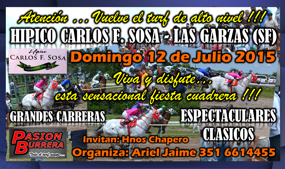 LAS GARZAS - CARLOS F. SOSA - 12 JULIO