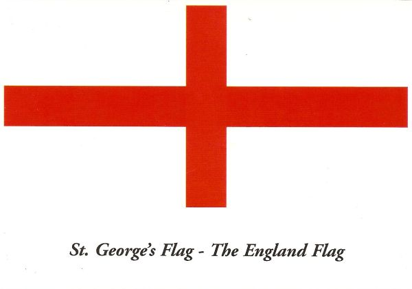 white flag with red cross