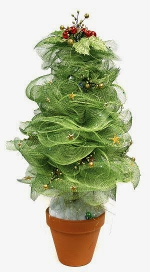 Green Mesh Tree