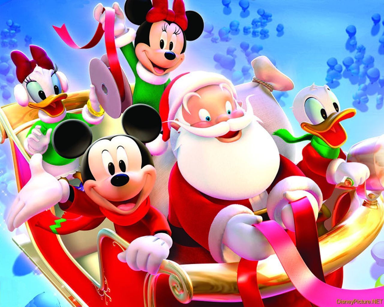 Disney Christmas Cartoon Pictures