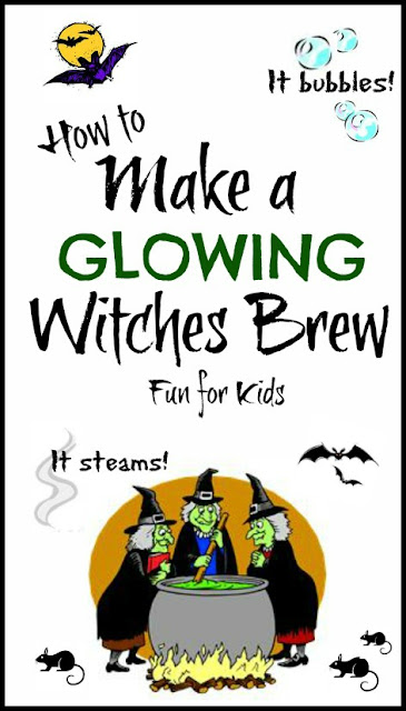 Halloween activities for kids- witches brew