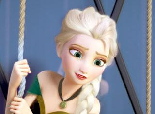 Gambar Frozen Elsa sedih
