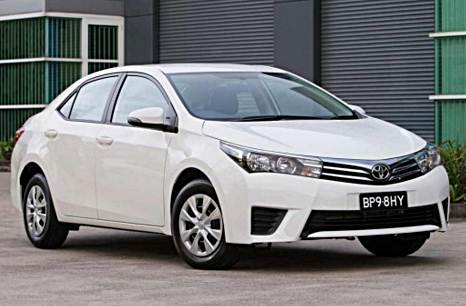 2016 Toyota Corolla Ascent Sedan Release Date
