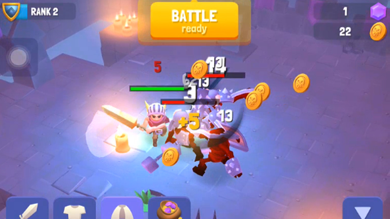 Nonstop Knight Gameplay IOS / Android