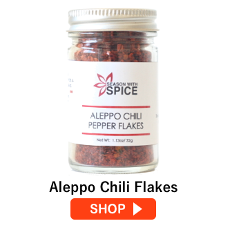 buy aleppo chili flakes online from season with spice shop