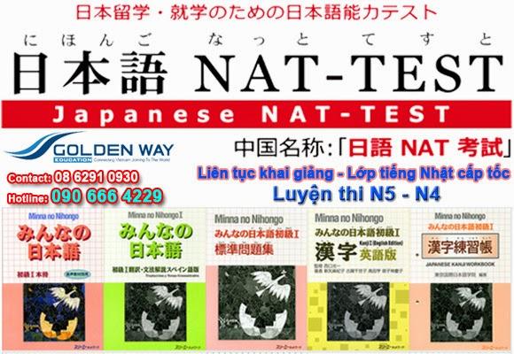 Khóa luyện thi Nat test cấp tốc - www.TAICHINH2A.COM
