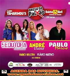 CLUBE TAMARINDU'S - BREGA DA PAIXÃO.