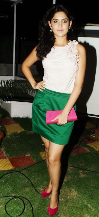deeksha seth in skirt hot images