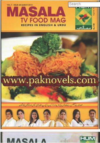 Free Download PDF Masala Tv Food Magazine March 2015