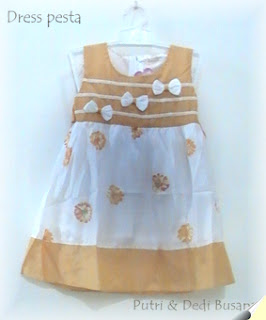 dress pesta bayi terbaru