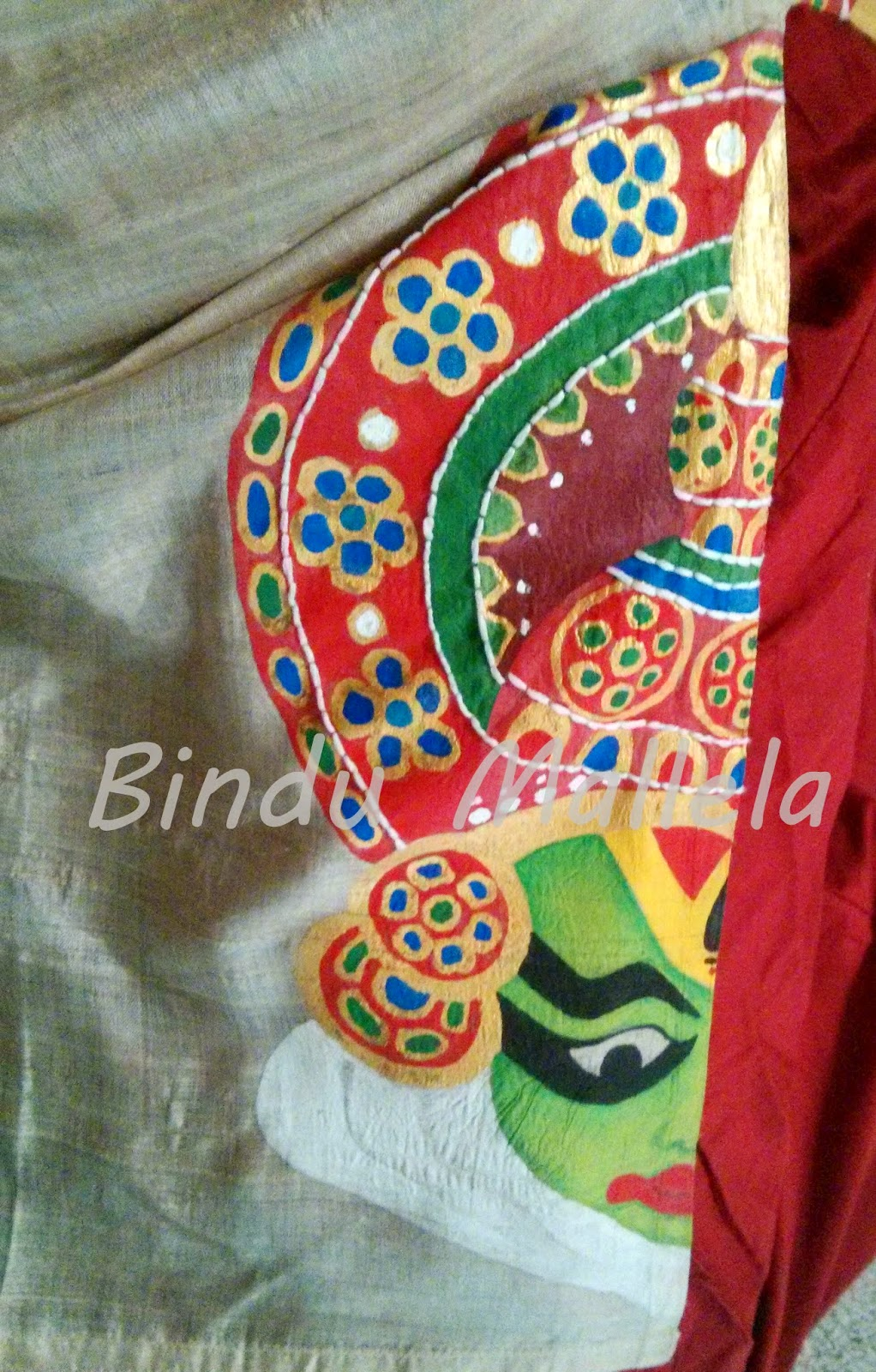 Crazy Painting Crazy For Colors Hand Painted Kurti