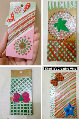 Make Colorful Bookmarks