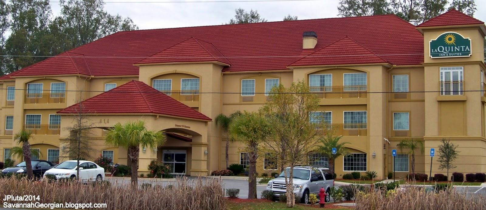Laquinta Inn Suites Hotel Pooler Georgia Gray Street Savannah Airport I 95 Hwy 80 Exit La Quinta Lodging Ga