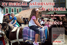XV Mercáu Astur de Cenera. 20 y 21 de septiembre.