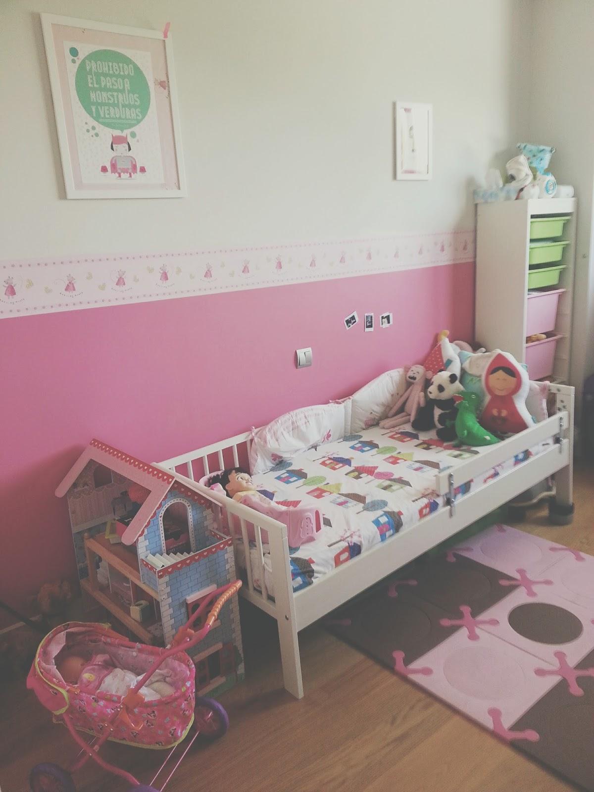 Habitaci n para ni as a partir de 2 a os for Decoracion habitacion nina de 8 anos