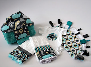 handmade gift set for baby boy
