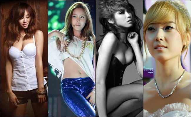 10 Anggota Girl Band Korea yang paling Seksi