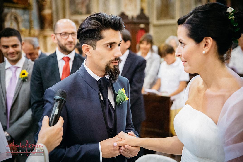 scambio promesse matrimonio religioso