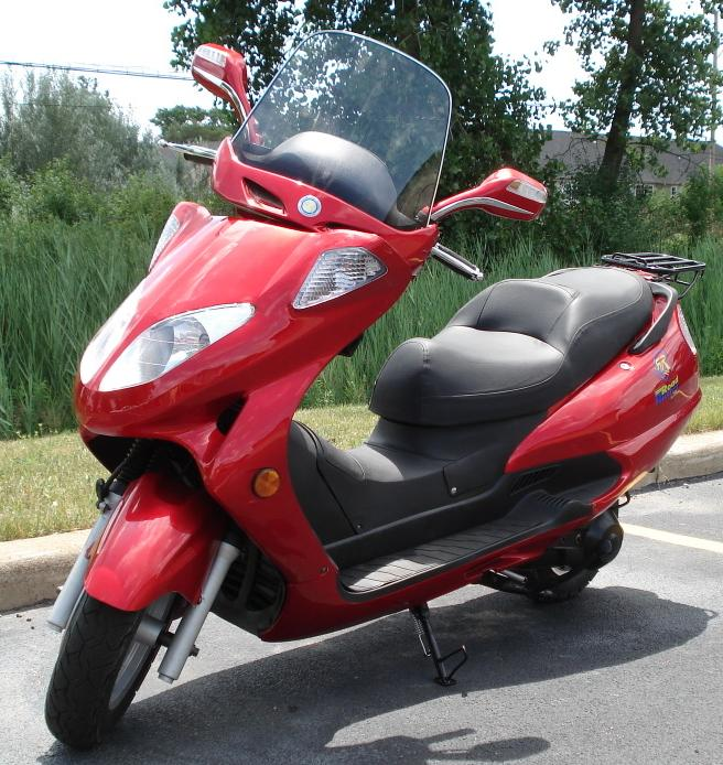 Scooters Motorcycles Review Top 250cc Scooter On The Road