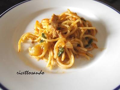 Sopa seca Perù  (ovvero pasta risottata)