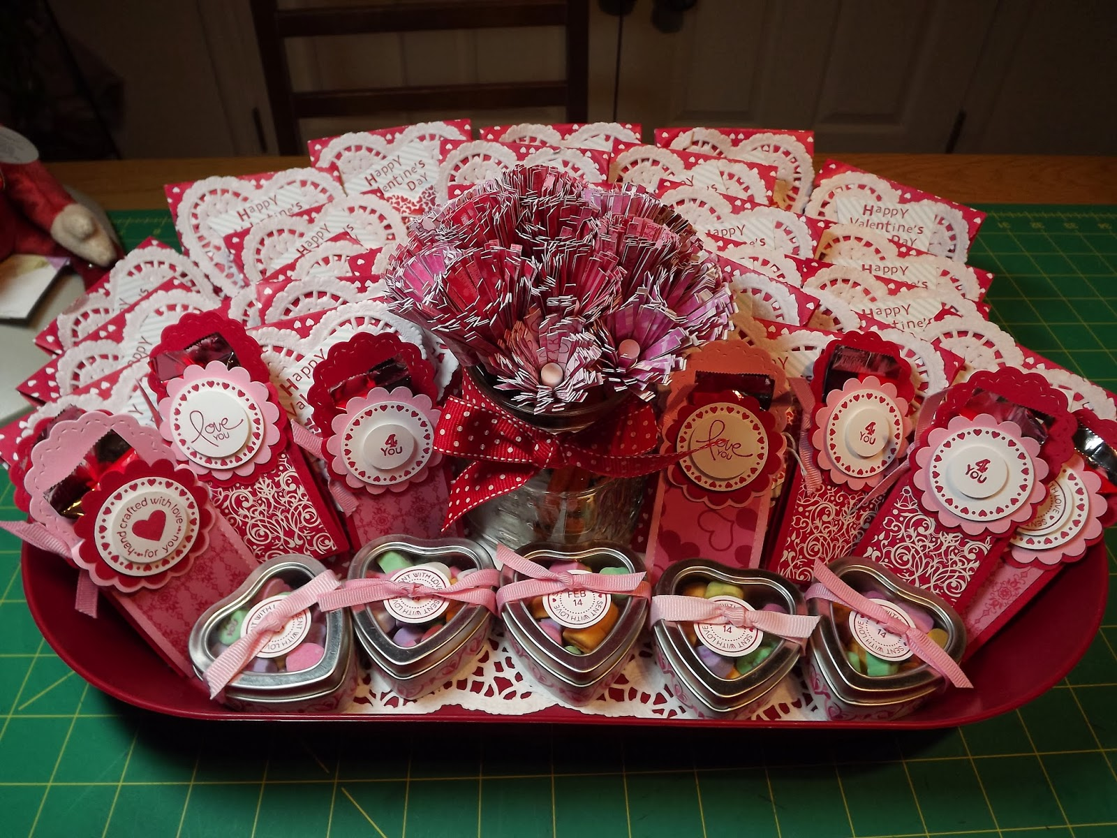 nannys pansy patch valentine tray goodie bags