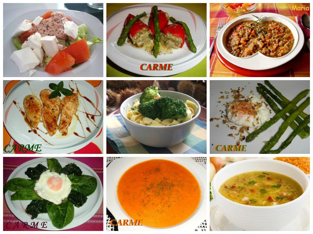 Nutrici n y salud men para adelgazar con una dieta sana - Comida sana y facil para adelgazar ...