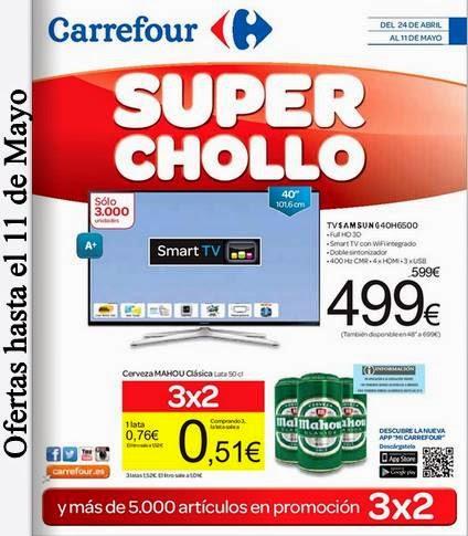 Super Chollo Carrefour hasta el 11-5-2015