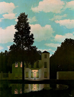 Rene Magritte  - The Empire of Lights,1954