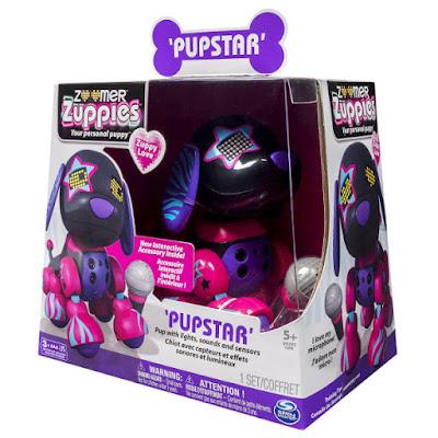TOYS : JUGUETES - ZOOMER Zuppies Zuppy Love - Pupstar : Estela Perro Robot | Mascota Electrónica Interactiva Producto Oficial | Bizak - Spin Master | A partir de 5 años Comprar en Amazon España & buy Amazon USA