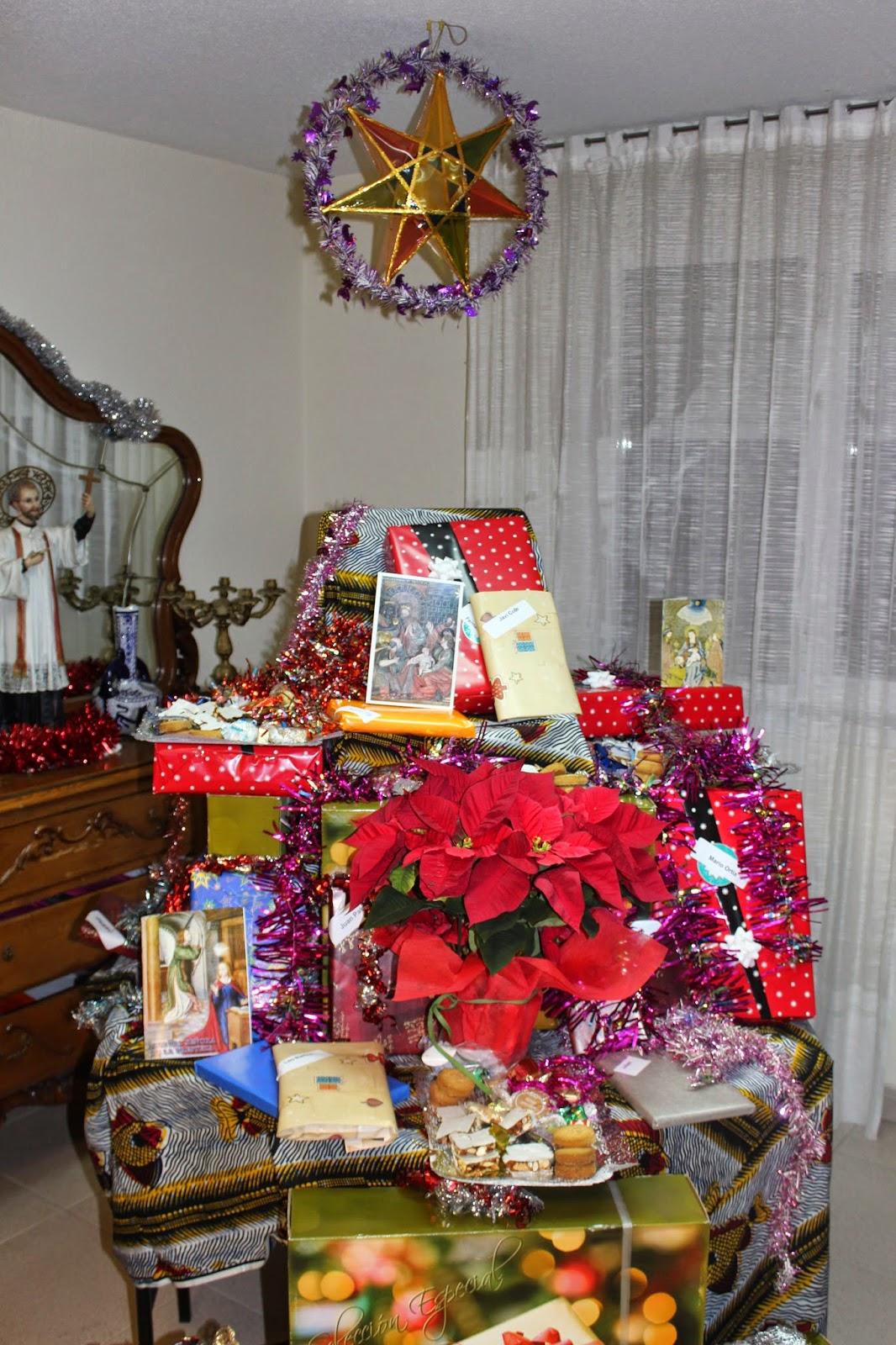 árbol de regalos