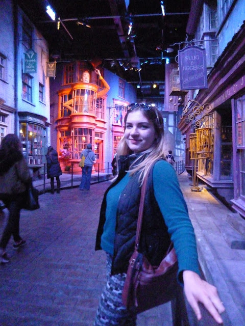 Diagon Alley warner bros studios